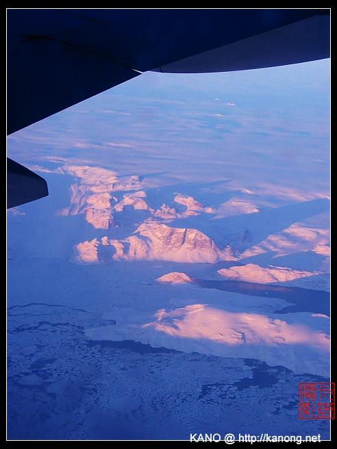 一周年纪念-飞机上的景色